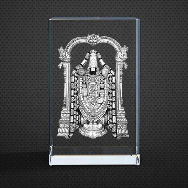 Buy God Balaji 3d Crystal Idol Statue View Tirumala Tirupati Swami Idol